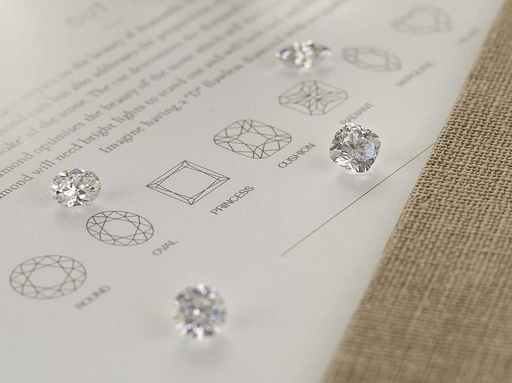 Selecting Your Perfect Diamond – Understanding The 4 C's