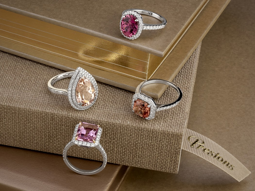 A Colourful Gemstone: Playful Pink