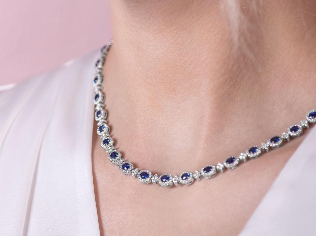 Classic Colours: Sapphire, Ruby & Emerald