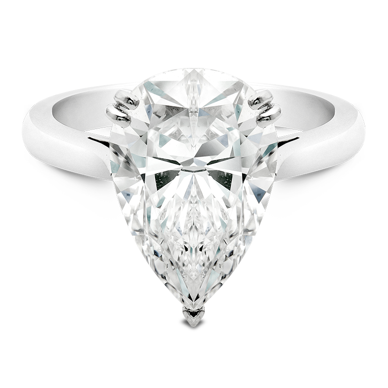 5.01ct Pear Cut Solitaire, Masterpiece