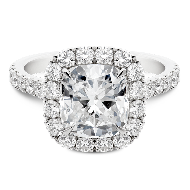3.25ct Cushion Cut Halo, Masterpiece