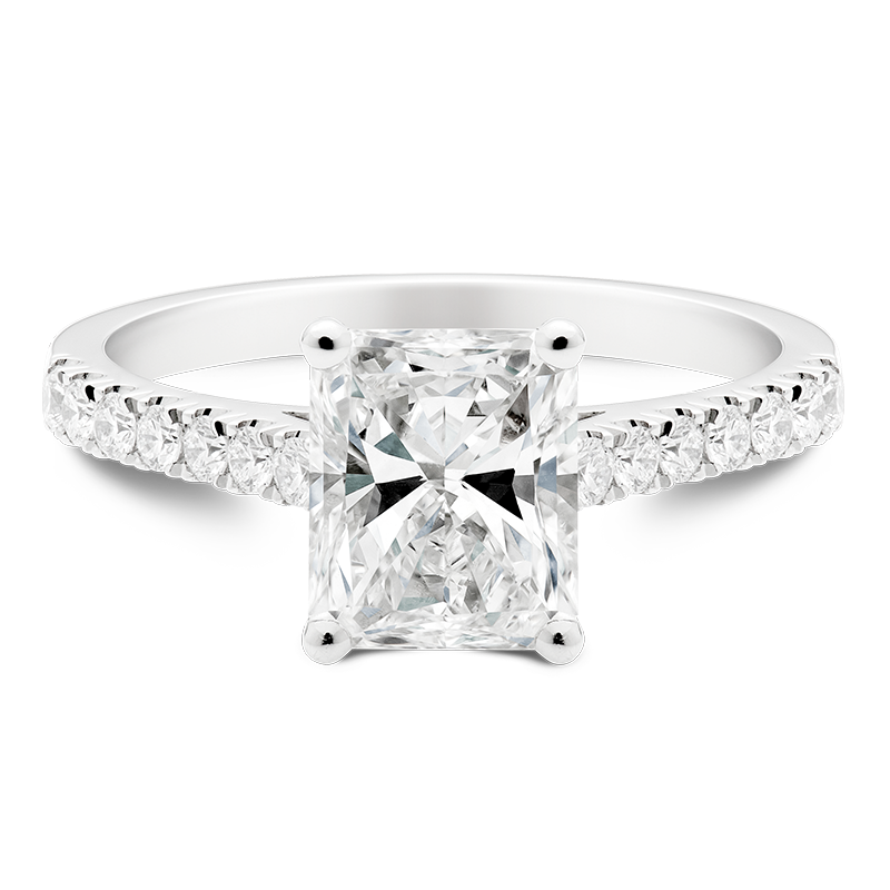 2.33ct Radiant Cut Solitaire, Masterpiece