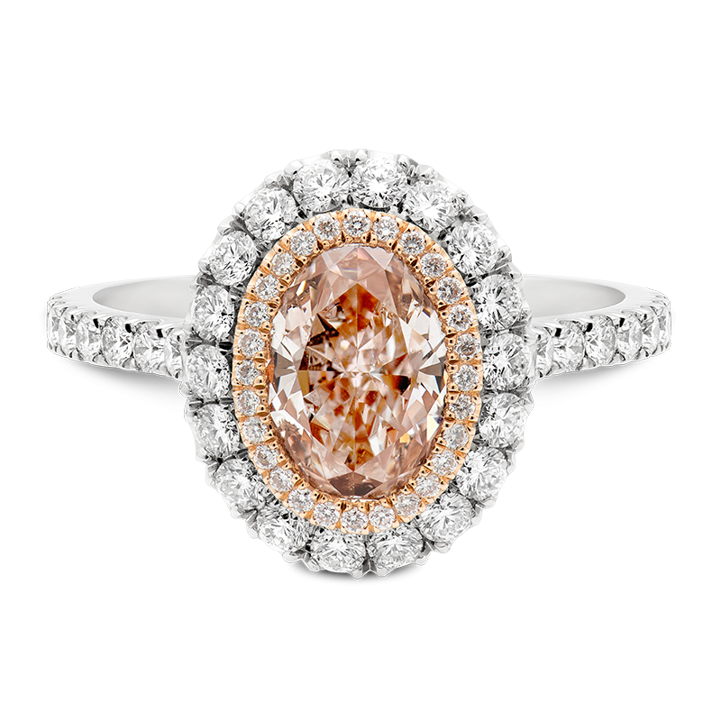 2.22cts Oval Cut Pink Diamond, Masterpiece