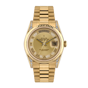 Rolex, Day-Date, Yellow gold