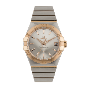 Omega, Co-Axial Constellation, Steel and Gold