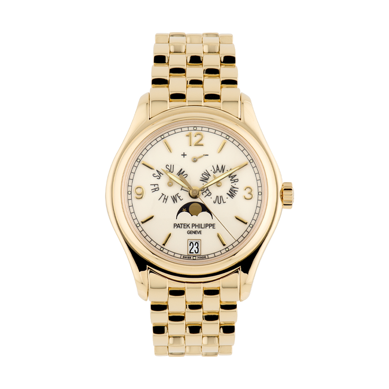 Patek Philippe, Annual Calendar, 18ct Yellow Gold