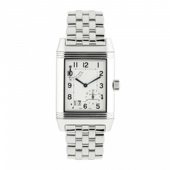 Jaeger Le Coultre, Reverso Grande Date, Steel