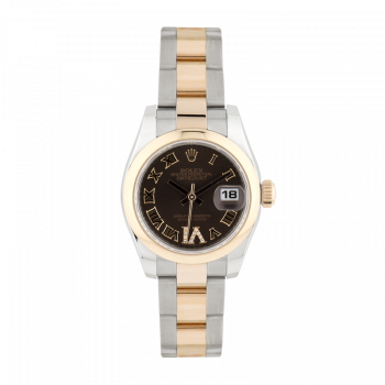 Rolex, Datejust, Steel and rose gold