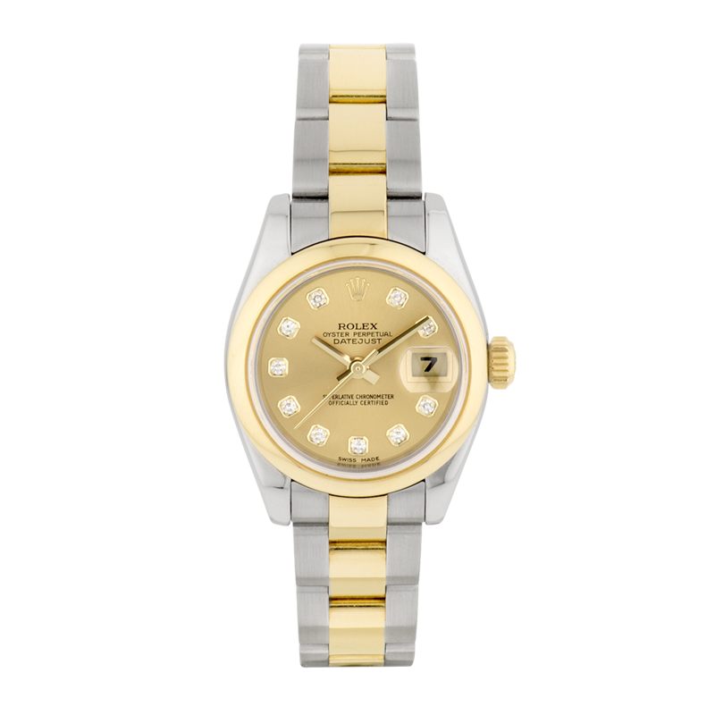 Rolex, Lady-Datejust 26, Yellow Rolesor