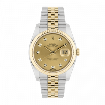Rolex, Datejust, Steel and gold