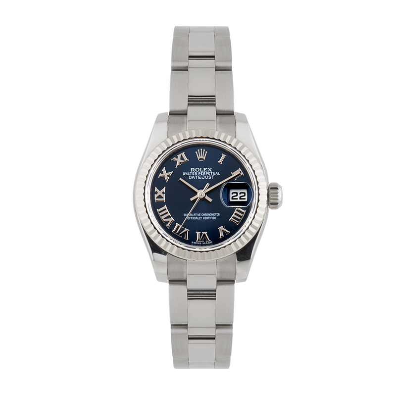 Rolex, Lady-Datejust 26, White Rolesor