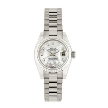 Rolex, Lady-Datejust 26mm, White Gold
