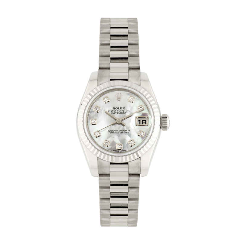 Rolex, Lady-Datejust 26, 18ct White Gold