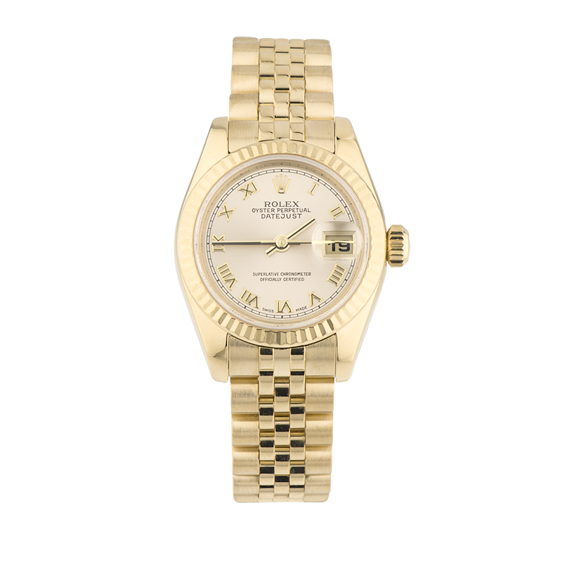 Rolex, Lady-Datejust 26, 18ct Yellow Gold