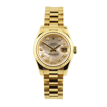 Rolex, Oyster, Lady-Datejust 26mm, Yellow Gold