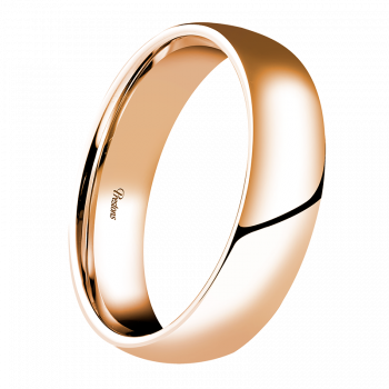 Light-Medium Classic Court, 18ct Rose Gold