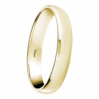 Lightweight Classic Court, 18ct Yellow Gold