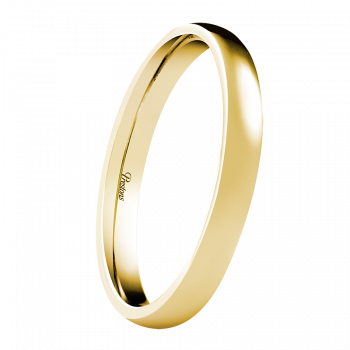 Light-Medium Classic Court, 18ct Yellow Gold
