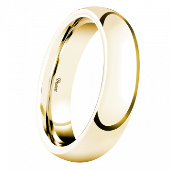 Heavy Classic Court, 18ct Yellow Gold