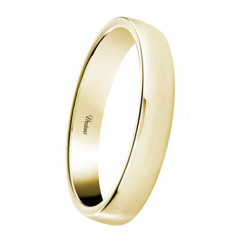 Medium weight Contemporary Court, 18ct Yellow Gold