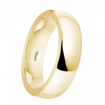 D-Shape, 18ct Yellow Gold