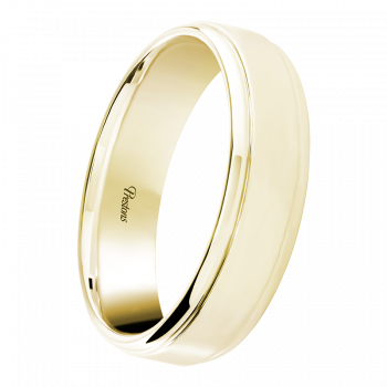 Medium Classic Court, Pattern Detail, 18ct Yellow Gold