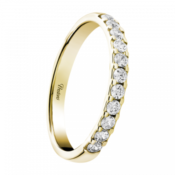 Classic Court, Diamond Set, 18ct Yellow Gold