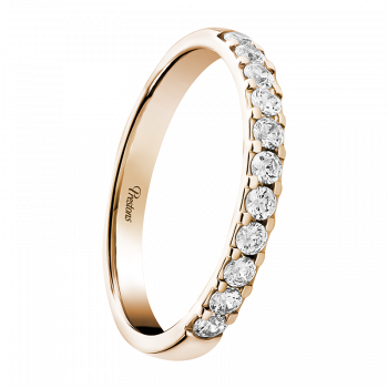 Classic Court, Diamond Set, 18ct Rose Gold