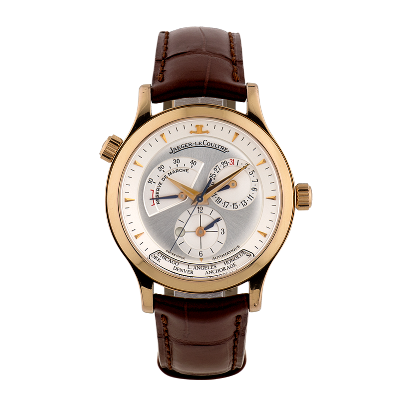 Jaeger-LeCoultre Master Geographic, Pink Gold