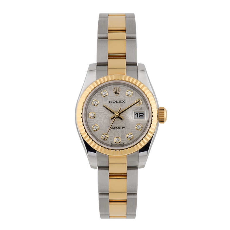 Rolex, Lady-Datejust, Yellow gold Rolesor