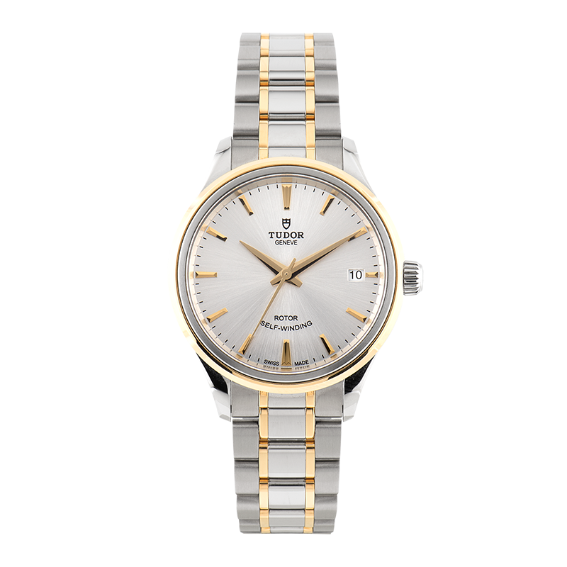 Tudor, Style Date, Steel and Yellow Gold