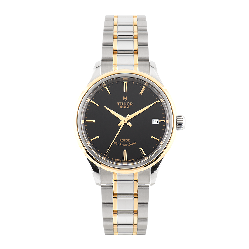 Tudor, Style Date 34mm, Steel and Yellow Gold
