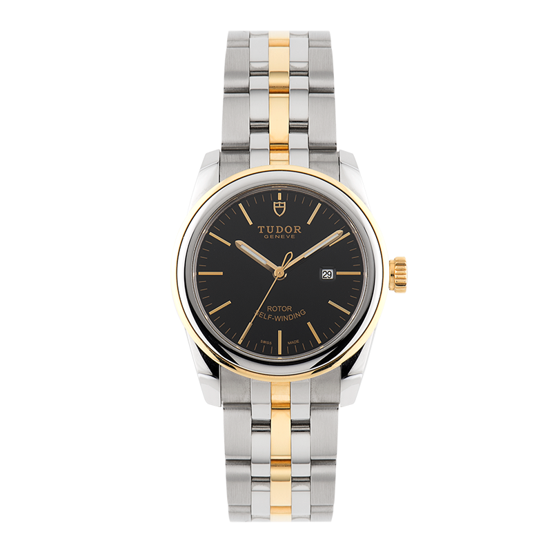 Tudor, Glamour Date 31mm, Steel and Yellow Gold