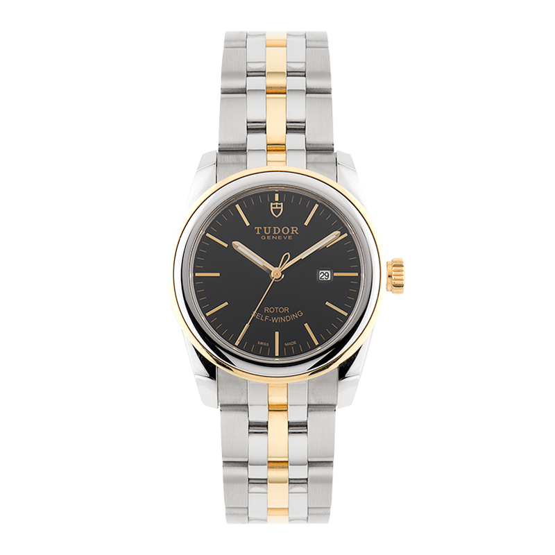 TUDOR, Glamour Date, Steel and Yellow Gold