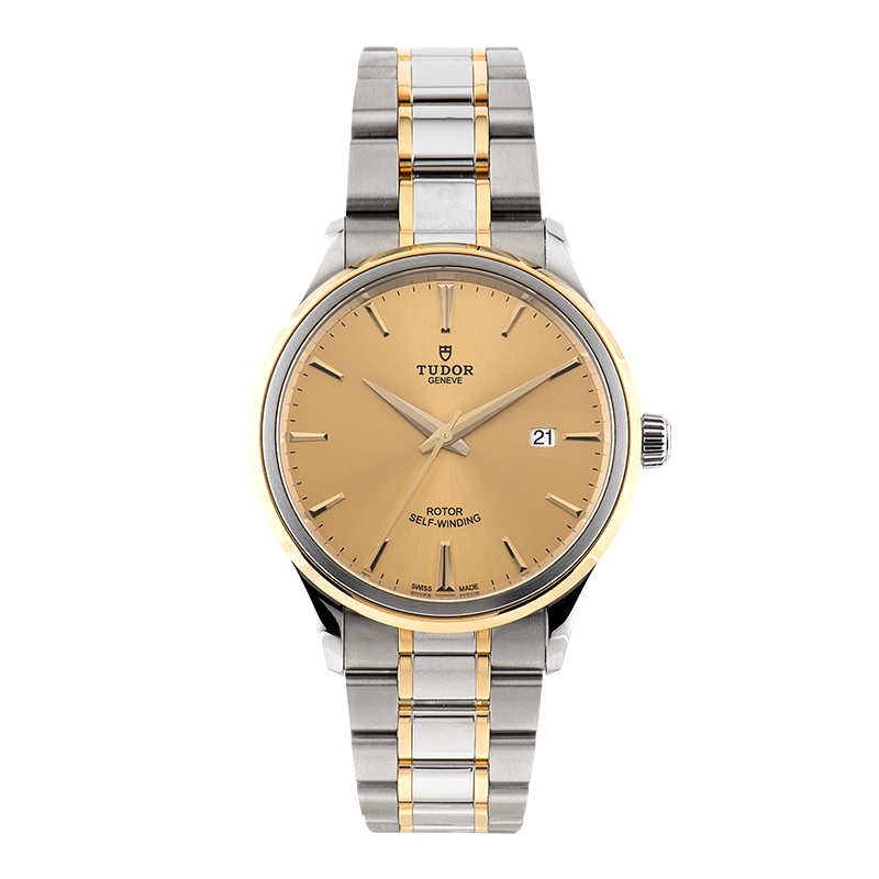 Tudor, Style Date 41mm, Steel and Yellow Gold