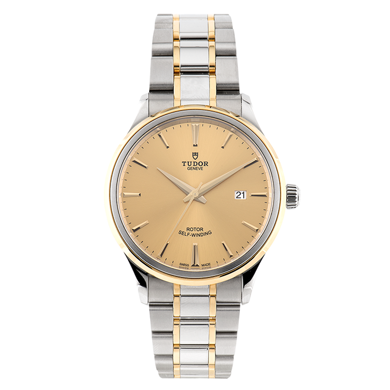TUDOR, Style Date 41, Stainless Steel and Yellow Gold