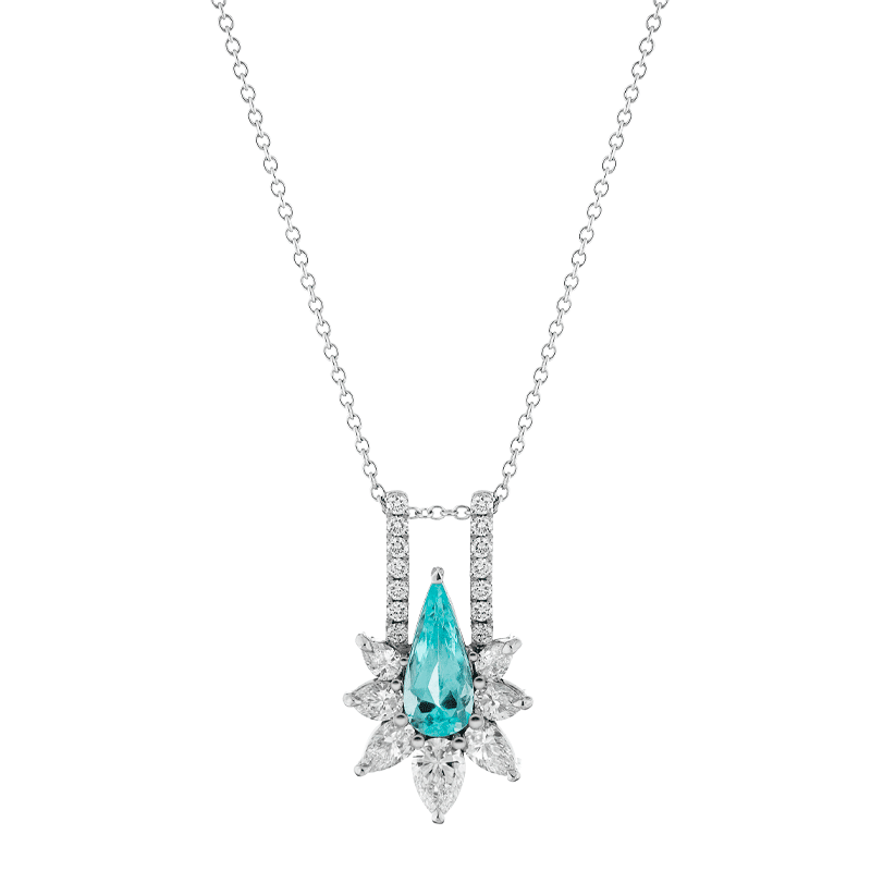 Distinctive Paraiba Tourmaline Pendant