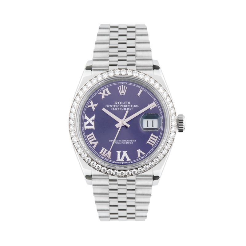 Rolex, Datejust 36, White Rolesor