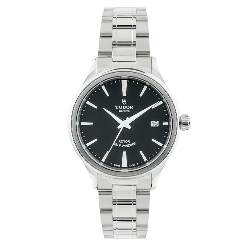 TUDOR, Style Date 38, Stainless Steel