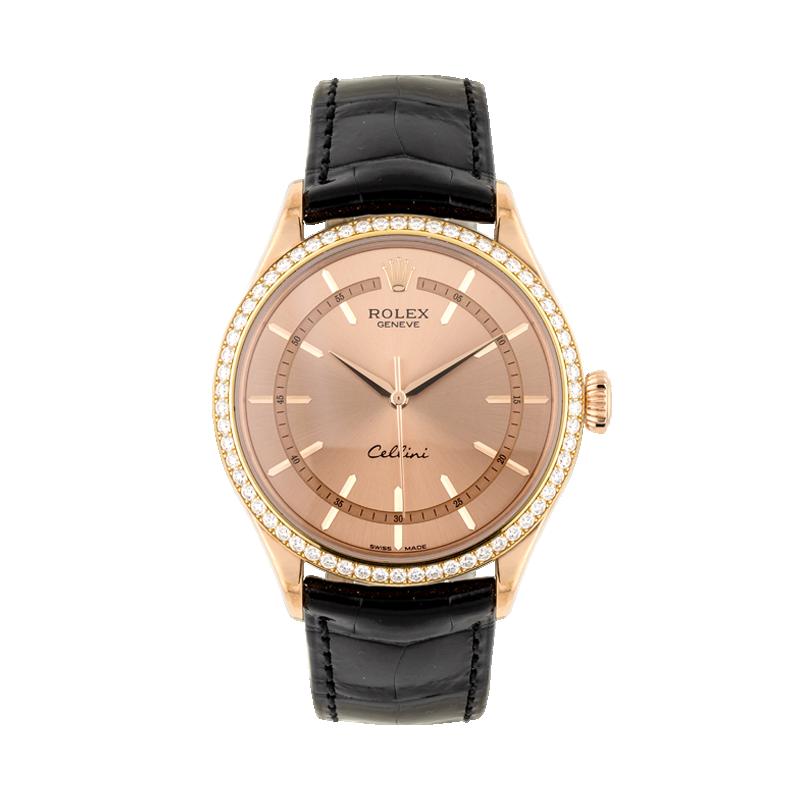 Rolex, Cellini Time, 18ct Everose Gold