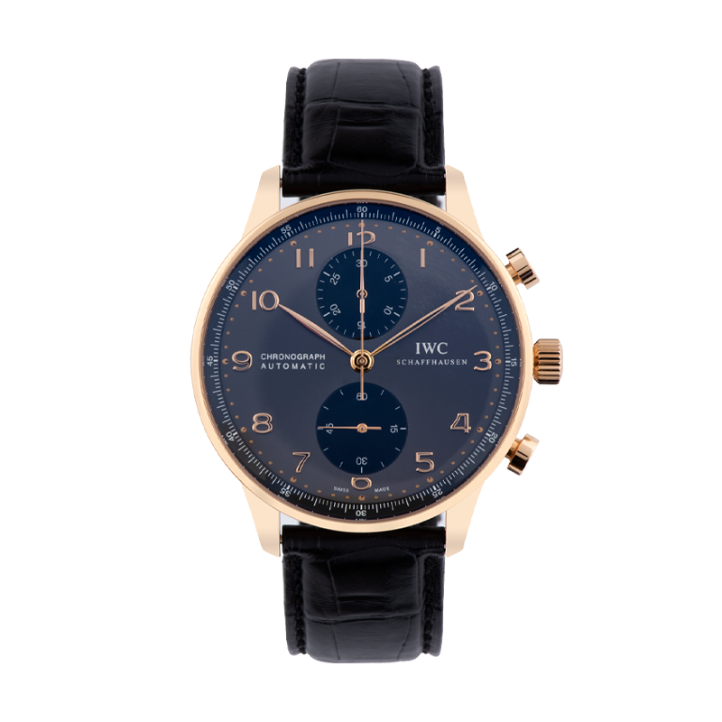 IWC, Portugieser Chronograph, 18ct Rose Gold