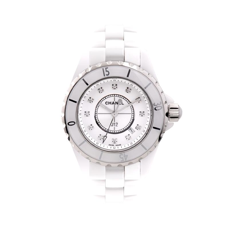Chanel J12, White Ceramic