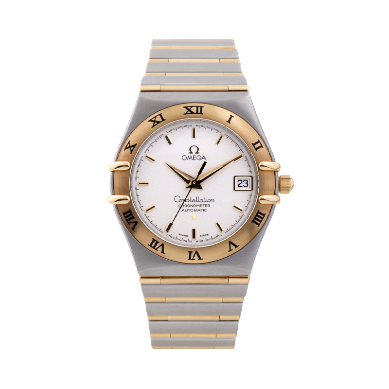 Omega, Constellation, Stainless Steel & Yellow Gold