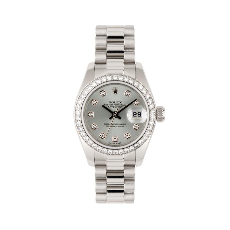Rolex, Lady-Datejust 26, Platinum