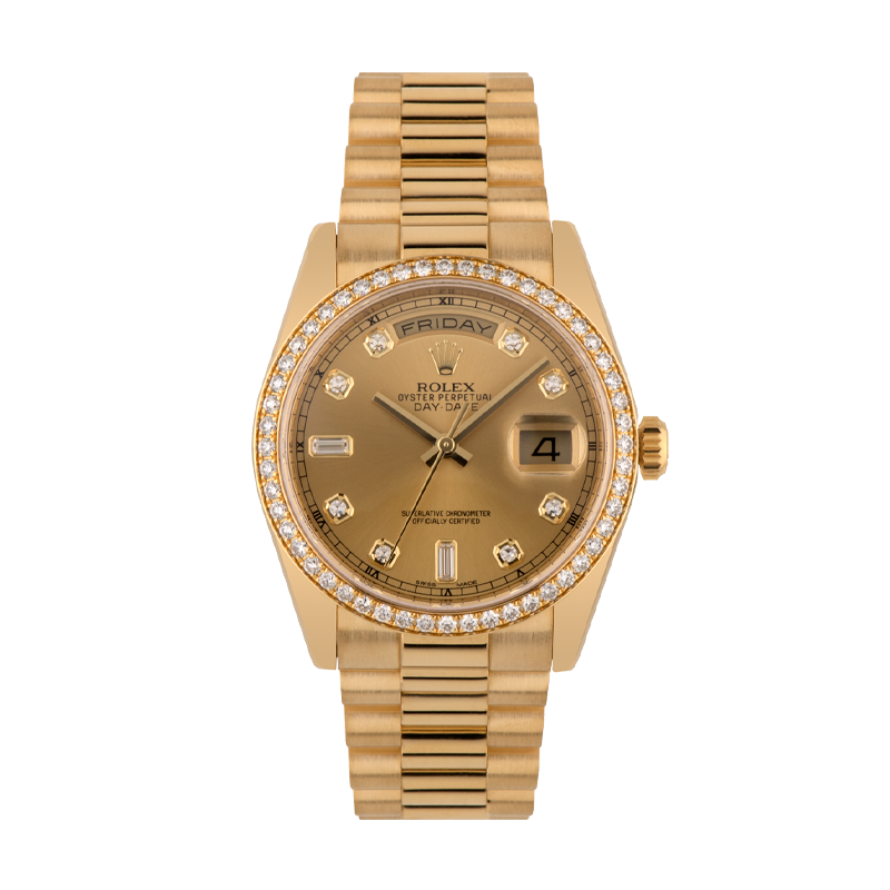 Rolex, Day-Date 36, 18ct Yellow Gold