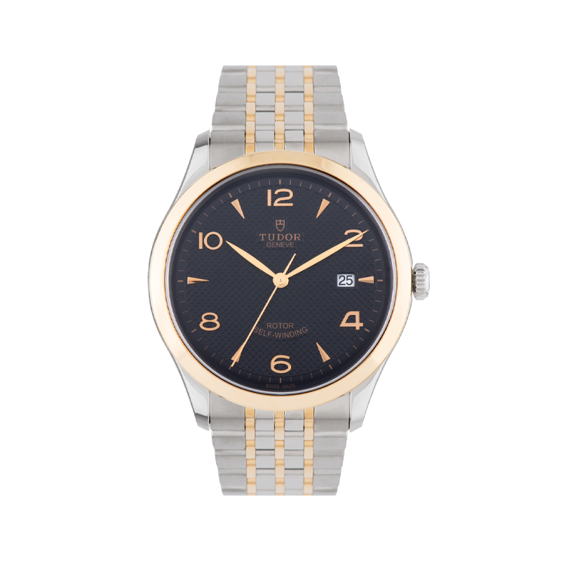 TUDOR, 1926, Stainless Steel and Rose Gold