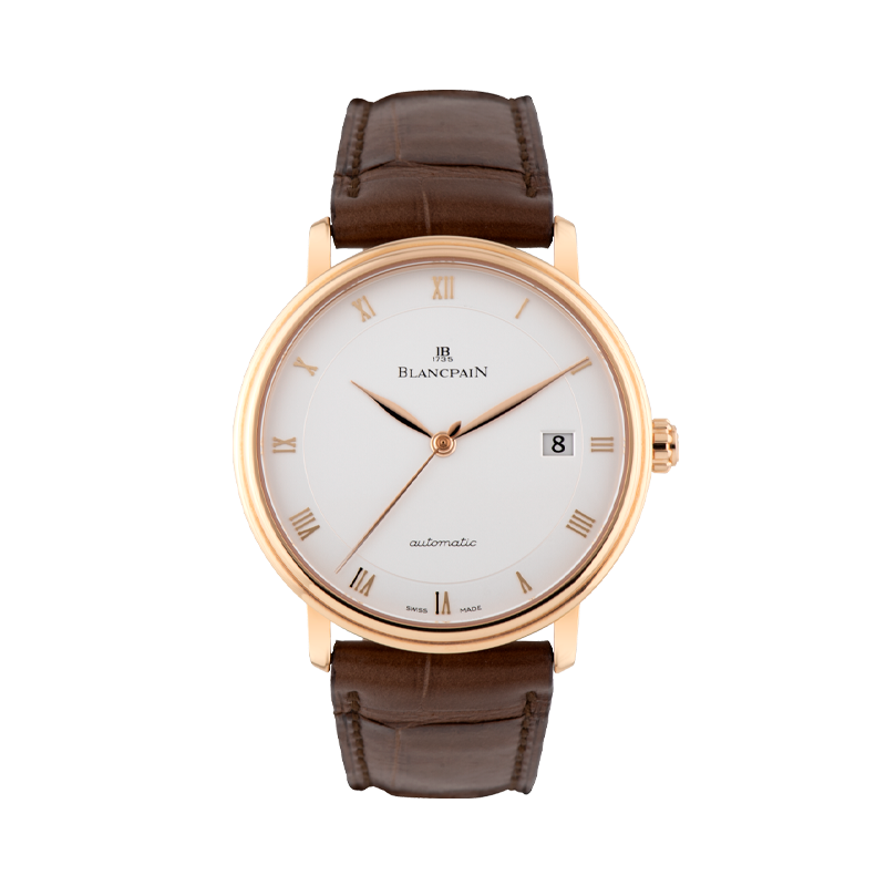 Blancpain, Villeret Ultraplate, 18ct Red Gold
