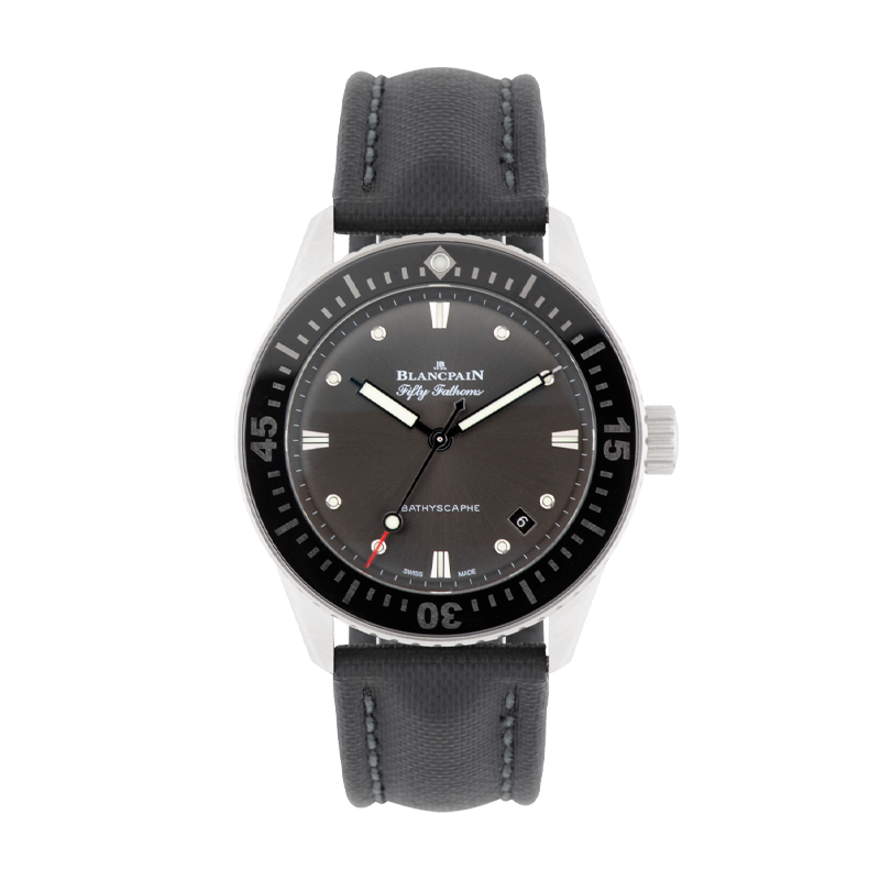 Blancpain, Fifty Fathoms Bathyscaphe, Stainless Steel