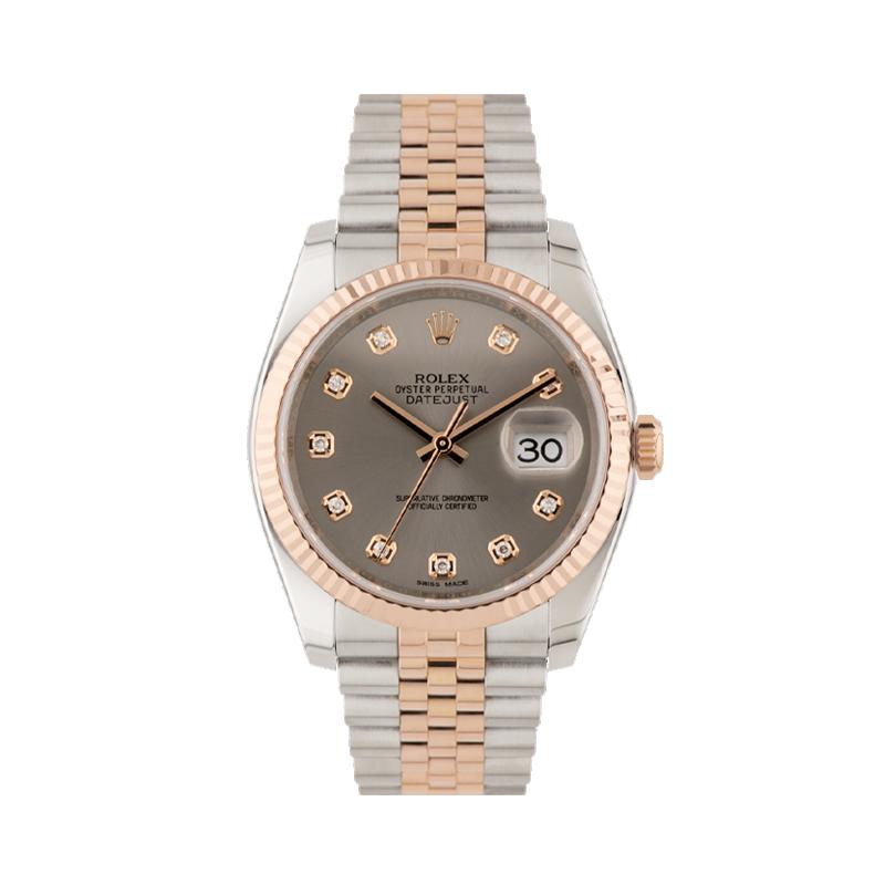 Rolex. Datejust 36, Everose Rolesor