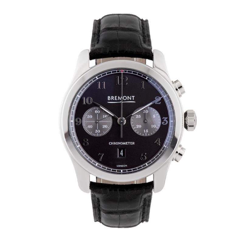 Bremont, ALT1-C Polished Black, Stainless Steel